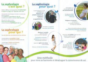 Flyer Isabelle FRIEDEL Sophrologue verso