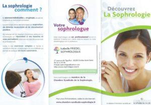 Flyer Isabelle Friedel Sophrologue recto